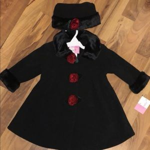 Other - NWT Sophie Rose 18mo girls dressy winter jacket.